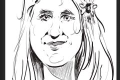 animation caricaturiste digital d'arbre de noel Caisse d'Epargne