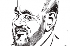animation caricaturiste entreprise Caisse d'Epargne