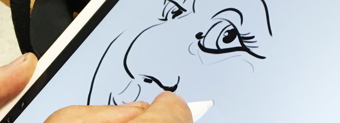 caricature-digitale-femme-slide